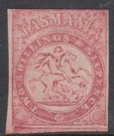 Australia-Tasmania SG F2 1863-80 Fiscals 2s 6d Carmine Mint No Gum - Mint Stamps