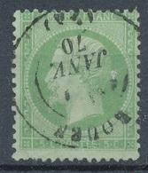 N°20 CACHET A DATE - 1862 Napoléon III
