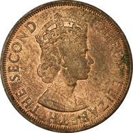 Monnaie, Etats Des Caraibes Orientales, Elizabeth II, 2 Cents, 1955, SUP - Territoires Britanniques Des Caraïbes