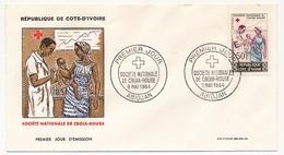 Côte D'Ivoire => Enveloppe FDC - Société Nationale De La Croix-Rouge - ABIDJAN - 3 Mai 1964 - Ivory Coast (1960-...)