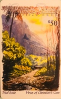 "PITCAIRN ISLAND  -  Phonecard  -  Views Of Christian's Cave ""  -  $50.00 - Islas Pitcairn"