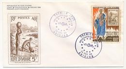 Côte D'Ivoire => Enveloppe FDC - 100f Philexafrique - ABIDJAN - 14 Février 1969 - Côte D'Ivoire (1960-...)