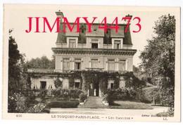 """CPA - LE TOUQUET 62 Pas De Calais - Hôtel  """" Les Ramiers """" - PARIS PLAGE - N°100 - L L - Edit. Debune Fils - Le Touquet"""