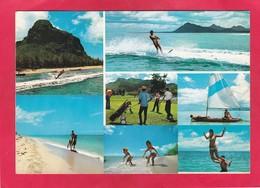 Modern Multi View Post Card Of Mauritius,P51. - Mauritius