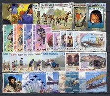SAN MARINO ANNO 2003 -  COMMEMORATIVI  MNH** - Unused Stamps