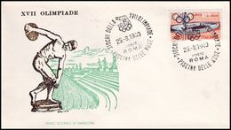 Italy - 1960 K - Olympic Games 1960 - Cover - Estate 1960: Roma