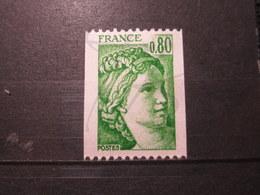 VEND BEAU TIMBRE DE FRANCE N° 1980a , XX !!! (b) - 1977-81 Sabine De Gandon