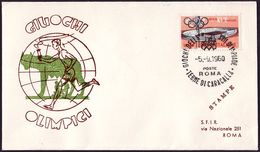 Italy - 1960 P - Olympic Games 1960 - Cover - Estate 1960: Roma