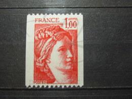 VEND BEAU TIMBRE DE FRANCE N° 1981a , XX !!! (a) - 1977-81 Sabine De Gandon