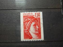 VEND BEAU TIMBRE DE FRANCE N° 1981Ba , XX !!! (a) - 1977-81 Sabine De Gandon