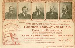 Indre Et Loire Elections Législatves De 1919 (politique) - Francia