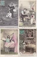 LOT/164......50 CPA FANTAISIES - 5 - 99 Postkaarten