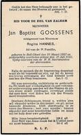 Bell-Geel, Gheel, 1935, Jan Goossens, Hannes - Images Religieuses