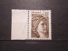 VEND BEAU TIMBRE DE FRANCE N° 2118a + BDF , XX !!! - 1977-81 Sabine Of Gandon