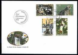 LUXEMBURG 2003 Nr 1622-1625 Gestempelt (102707) - Sonstige
