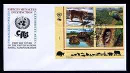 UNO GENF 2001 Nr 409-412 Gestempelt (102705) - Sonstige