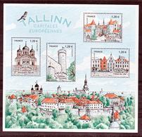 France 5212 5215 2018 Tallin Capitale Européenne  F   Neuf TB ** MNH Sin Charnela Prix De La Poste 6 - Frankreich