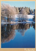 Postal Stationery - Winter Lake Landscape - Red Cross 2000 - Finlandia - Suomi Finland - Postage Paid - Finlandia
