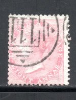 YT 25 -  OBLITERE  AVEC FILIGRANE  ELEPHANT - PAPIER BLANC - COTE 7 € - 1858-79 Kronenkolonie