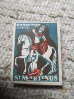 Ganshoren Winterhulp Sint Martinus 17 Uitgave - Boites D'allumettes