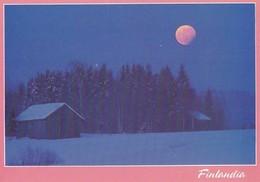 Postal Stationery - Winter Landscape At Moonlight - Red Cross 1992 - Finlandia - Suomi Finland - Postage Paid - Finlandia