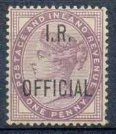 NB - [805793]TB//*/Mh-c:6e-Grande Bretagne 1882, N° 2A, 1p Violet, OFFICIAL - Service