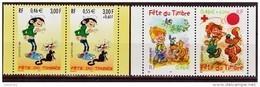France 3371A 3467A 2001 2002  Fête Du Timbre Lagaff , Boule Et Bill  De Carnet Neuf ** TB MNH - Frankreich
