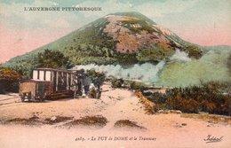 """L'AUVERGNE PITTORESQUE """"Le Puy De Dome Et Le Tramway"""" - Unclassified"""