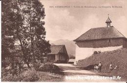 74 Abondance (evian Thonon Les Bains) Vallee De Richebourg Chapelle De St Saint Martin Chevre Goat RARE - Abondance