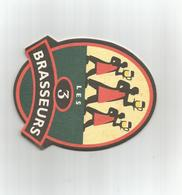 Sous Bock Bière Les 3 Brasseurs - Sous-bocks