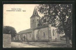 CPA Marsannay-le-Bois, Église,  Vue De L'Église - France