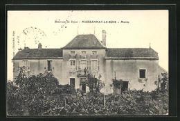 CPA Marsannay-le-Bois, Église,  Vue De Hôtel De Ville, Mairie - France