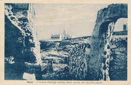NALUT / LIBIA / Poste Italiane  -  1938  ,  AK Nach Messina - Libyen