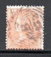 YT 22 -  OBLITERE  AVEC FILIGRANE  ELEPHANT - PAPIER BLANC - COTE 2 € - 1858-79 Kronenkolonie