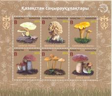 2019. Kazakhstan, Flora, Mushrooms Of Kazakhstan, S/s, Mint/** - Kazakhstan