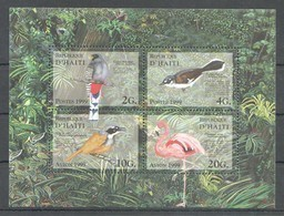 PK117 1999 D'HAITI FAUNA BIRDS 1KB MNH - Oiseaux