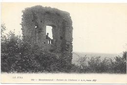 MONTMOROT : RUINES DU CHATEAU - France