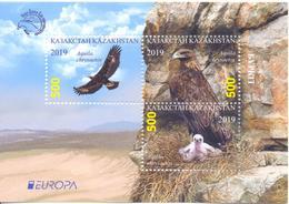 2019. Kazakhstan, Europa 2019, Birds, S/s, Mint/** - Kazakhstan