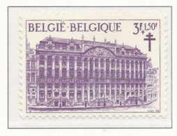 NB - [150385]SUP//**/Mnh-N° 1357, ANTITUBERCULEUX, Vues De La Grand Place De Bruxelles, Maison Dite 'des Ducs De Brabant - Neufs