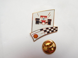 Superbe Pin's En EGF , Auto , F1 , Formule 1 , Carburant SHELL - F1