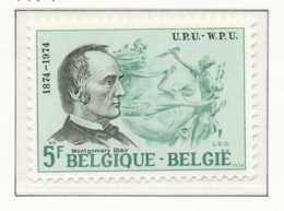 NB - [151271]SUP//**/Mnh-[1729] Belgique 1974, , Union Postale Universelle, Montgomery Blair, Postmaster USA, SNC - U.P.U.