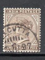 YT 36 -  OBLITERE  AVEC FILIGRANE  ETOILE - COTE 1.50 € - 1882-1901 Imperium