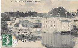 DOLE: MOULINS SUR LE DOUBS - Dole