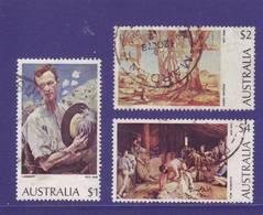 Australia 1974 - Arte 5v  (1$,  2$,  4$, 5$, 10$) Alti Valori Annulli Rotondi E Leggeri - 1966-79 Elizabeth II