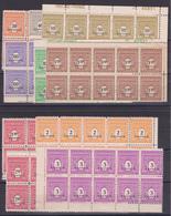 D118/ N° 702/711  NEUF ** COTE 20€ / LA SERIE COMPLETE EN BLOC DE 10 TIMBRES - France