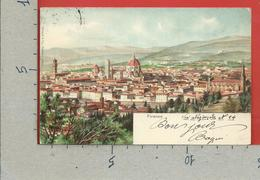 CARTOLINA VG ITALIA - FIRENZE - Panorama - Stengel & C - 9 X 14 - 1908 - Firenze (Florence)