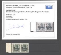 Belgien,12,Ia Za,xx,Befund - Besetzungen 1914-18