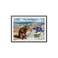 Timbre N° 2997 Neuf ** - Série Nature De France. Parc Des Cévennes. Marmotte Et Encolie. - France