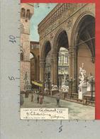 CARTOLINA VG ITALIA - FIRENZE - Loggia Dei Lanzi - Stengel & Co - 9 X 14 - 1911 Per La FRANCIA - Firenze (Florence)