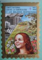 Grand Timbre Vignette De 1971-72 Du Comité De Défense Contre La Tuberculose - Commemorative Labels